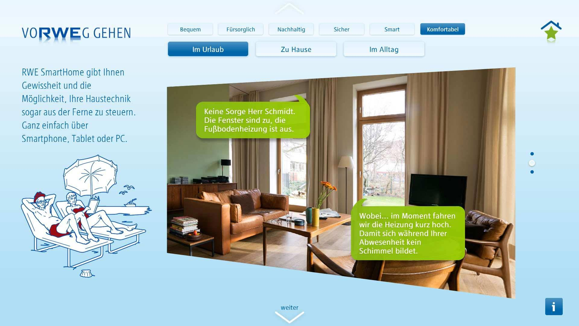 smarthome app - digital storytelling with cloudfolio